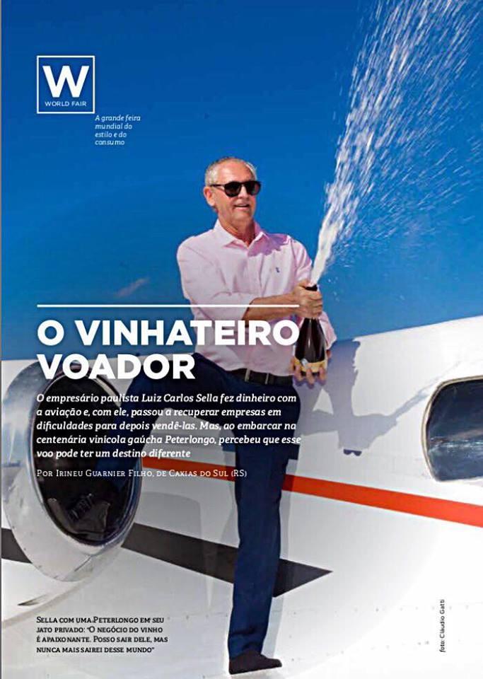 Jornal Vida Brasil Texas Vinho-aviao The Legacy of Champagne in Brazil Destaques News