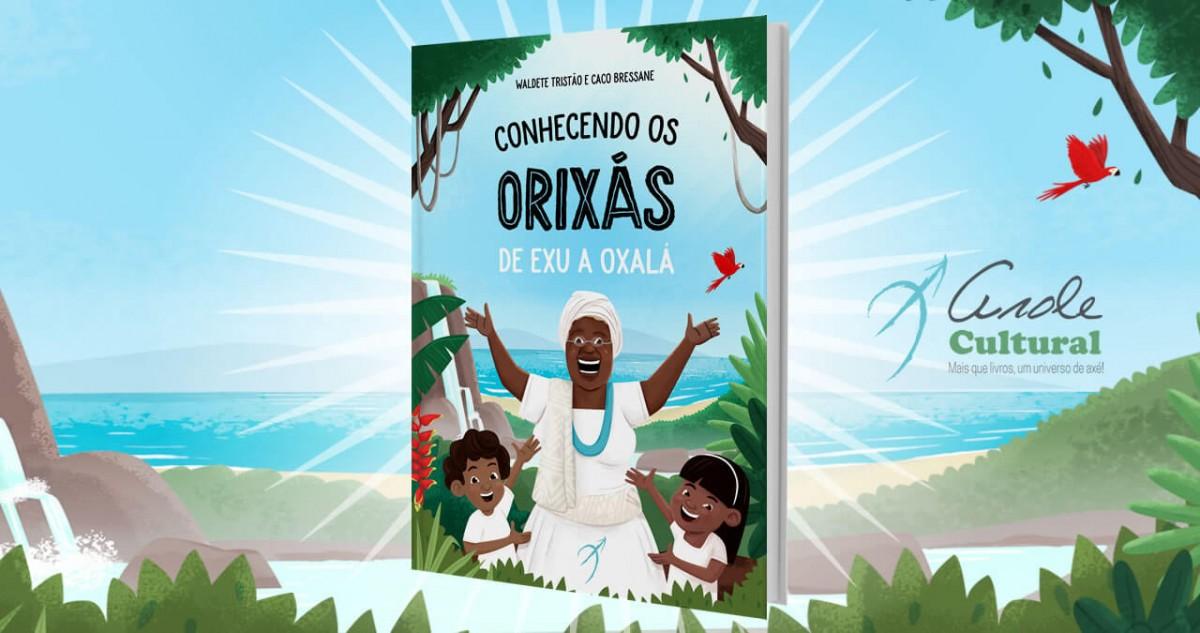 """Jornal Vida Brasil Texas livro-fera Lançamento do livro infantil """" Conhecendo os Orixás: De Exu a Oxalá"""" - Autora, Doutora Waldete Tristão. Arte & Cultura Destaques"""