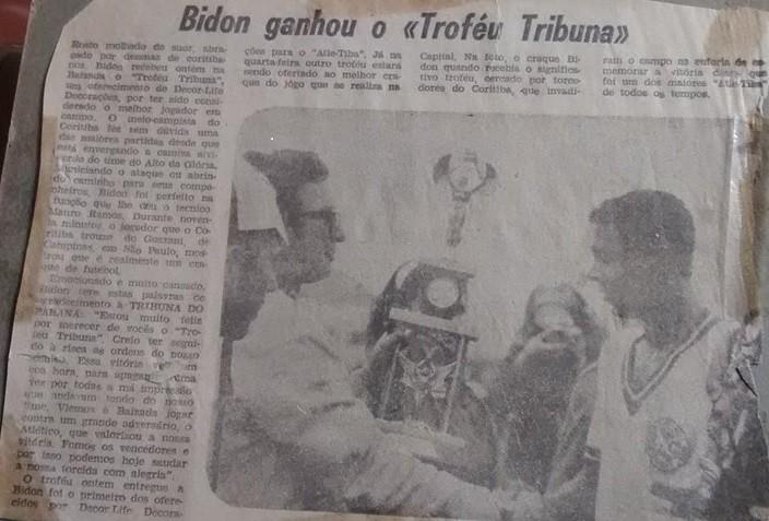 Jornal Vida Brasil Texas Bidon-TROFEU-1 Antônio Carlos Bidon, uma bela história de vida,  excelente Jogador de futebol, homem de negócios e muitas celebrações. Amigo da melhor qualidade Arte & Cultura Destaques