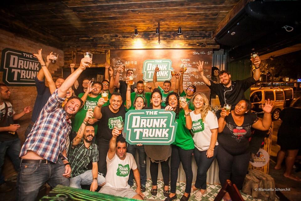Jornal Vida Brasil Texas Hoott Business of the month - The Drunk Trunk -  No centro do Rio de Janeiro Destaques News