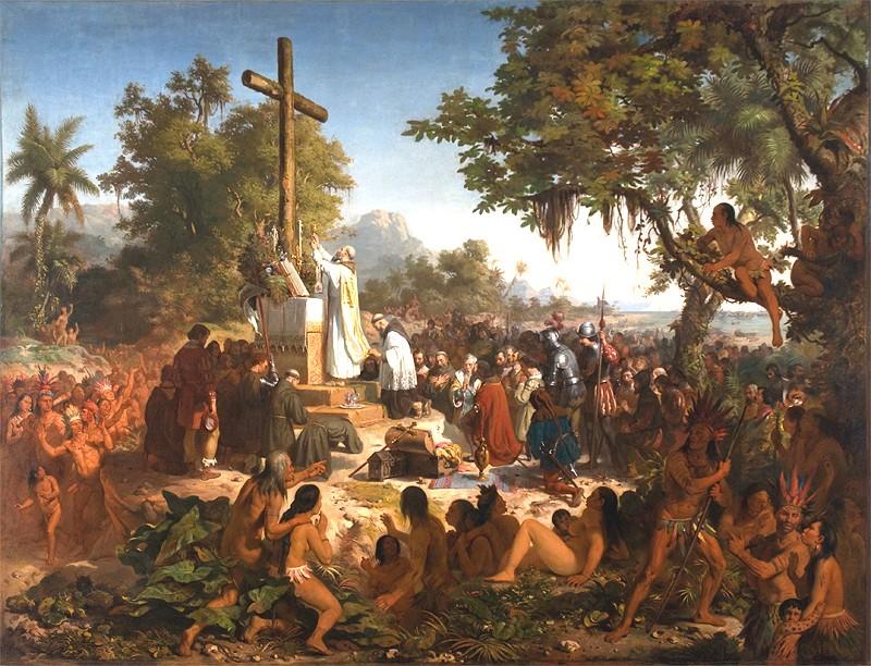 """Jornal Vida Brasil Texas Missa """"Descobrimento do Brasil"""" – Epílogo de uma longa história Destaques"""