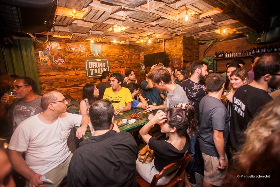Jornal Vida Brasil Texas Mocada-555 Business of the month - The Drunk Trunk -  No centro do Rio de Janeiro Destaques News