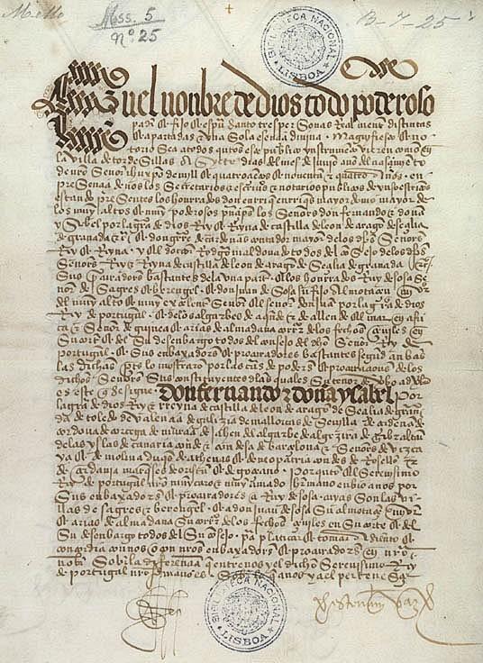 """Jornal Vida Brasil Texas Tratado """"Descobrimento do Brasil"""" – Epílogo de uma longa história Destaques"""