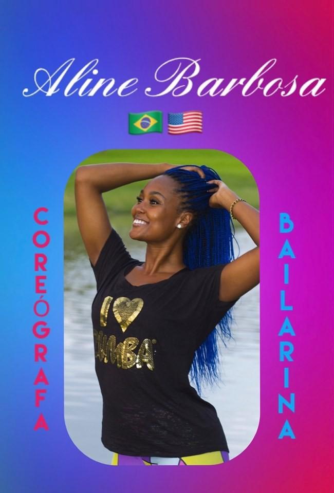 Jornal Vida Brasil Texas Aline-B-1 Personality of the Month - Aline Barbosa,  ex bailarina do Faustão, direto de Houston, Texas, para se apresentar no Rio de Janeiro Arte & Cultura Destaques