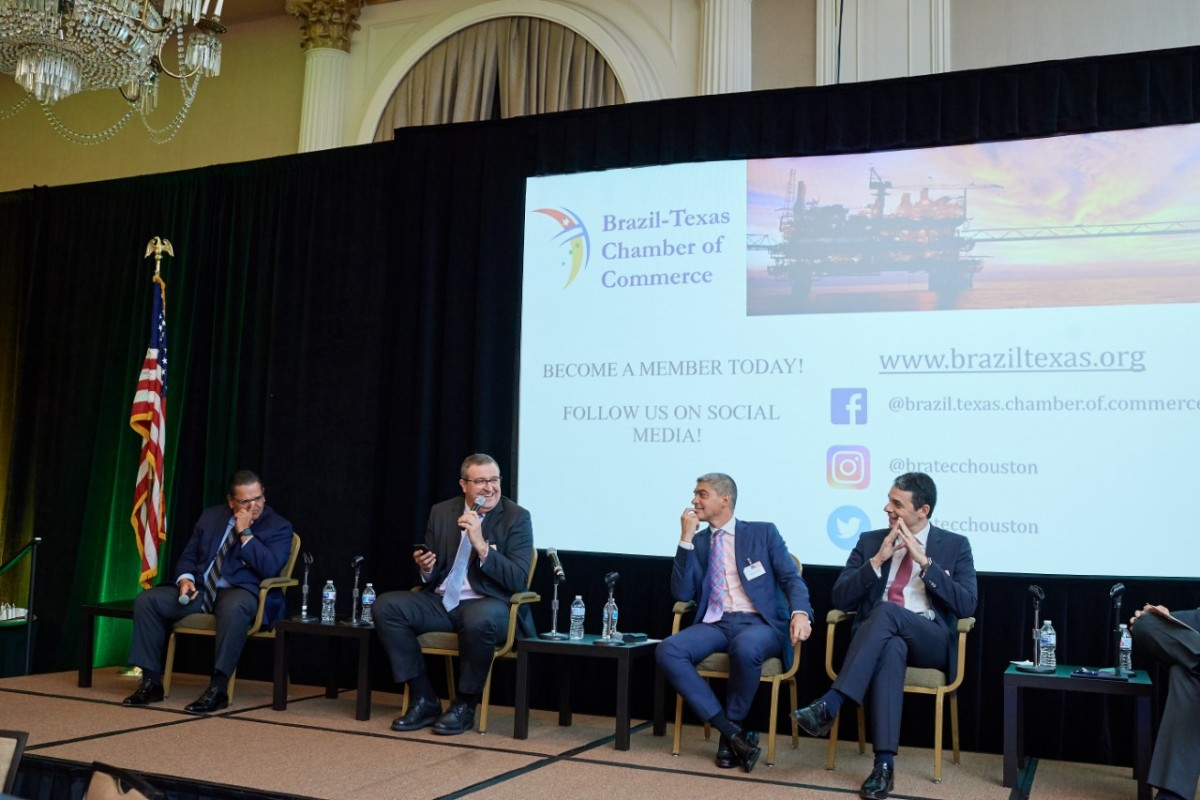 """Jornal Vida Brasil Texas BRATECC-TTT-7 BRATECC Hosted Their Annual Traditional Breakfast, """"Brazil Renewed: Unmatched Oil and Gas Opportunities"""" Destaques News"""