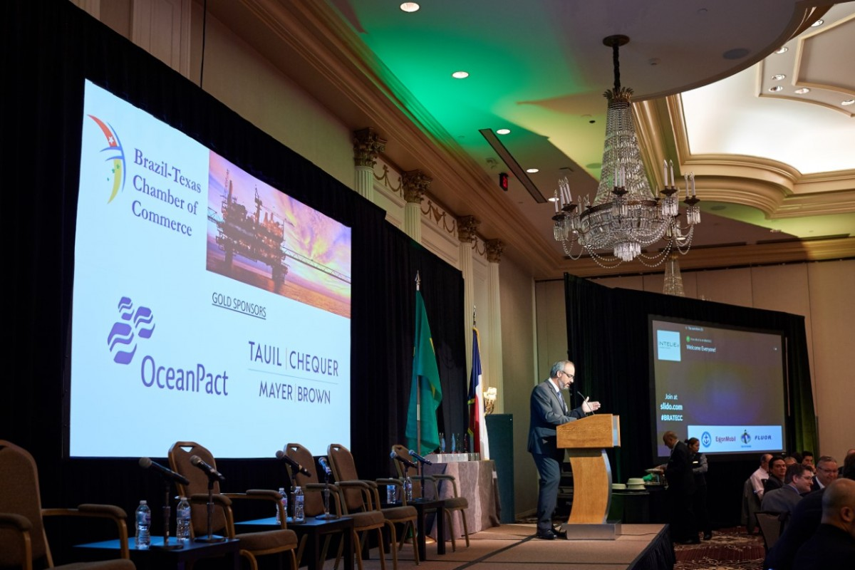 """Jornal Vida Brasil Texas Bratecc-TTT-3 BRATECC Hosted Their Annual Traditional Breakfast, """"Brazil Renewed: Unmatched Oil and Gas Opportunities"""" Destaques News"""