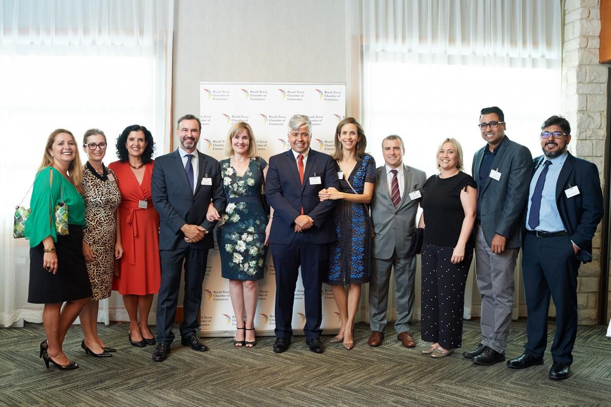 """Jornal Vida Brasil Texas fogo-fogo Social Event - """"Summer Business Mixer 2019 'A Farewell to Cristiano and Erika Berbert'"""" Destaques Social & Eventos"""