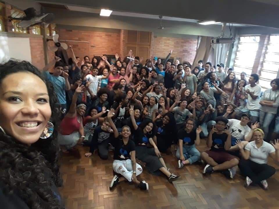 Jornal Vida Brasil Texas Escolas-222 Personality of the month - Luciana Dornelles Ramos, mulher negra, guerreira e vencedora. Um belíssimo exemplo para todos. Arte & Cultura Destaques