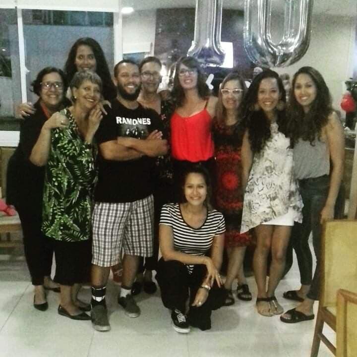 Jornal Vida Brasil Texas Familia-S-1 Personality of the month - Luciana Dornelles Ramos, mulher negra, guerreira e vencedora. Um belíssimo exemplo para todos. Arte & Cultura Destaques