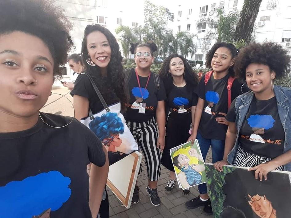 Jornal Vida Brasil Texas Prof-A Personality of the month - Luciana Dornelles Ramos, mulher negra, guerreira e vencedora. Um belíssimo exemplo para todos. Arte & Cultura Destaques