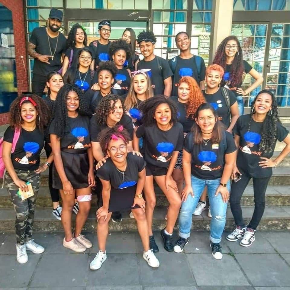 Jornal Vida Brasil Texas Projeto-1 Personality of the month - Luciana Dornelles Ramos, mulher negra, guerreira e vencedora. Um belíssimo exemplo para todos. Arte & Cultura Destaques